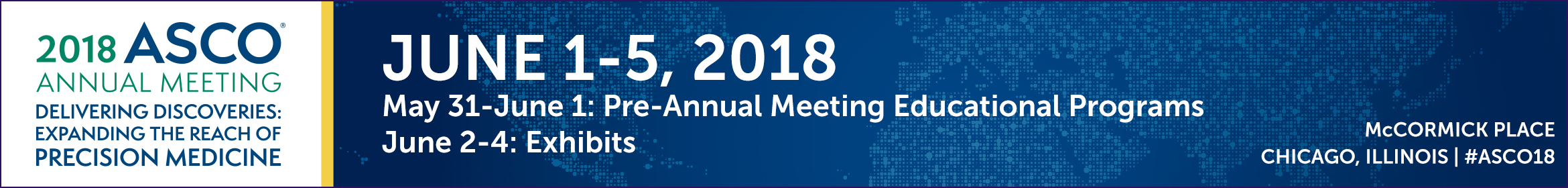 2018 ASCO Annual Meeting - Event Map